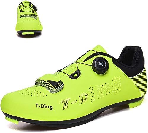 liangh Zapatilla De Deportivas,Zapatillas De Ciclismo para Adultos, Zapatillas De Bicicleta Carretera,Antideslizantes Y Transpirables,D-EU44: Amazon.es: Hogar