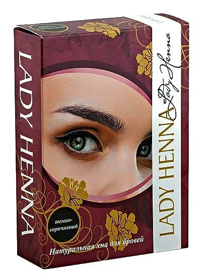 Amazon.com: Eyebrow Tint Eyebrow Color Henna Coloring Kit Dye for ...