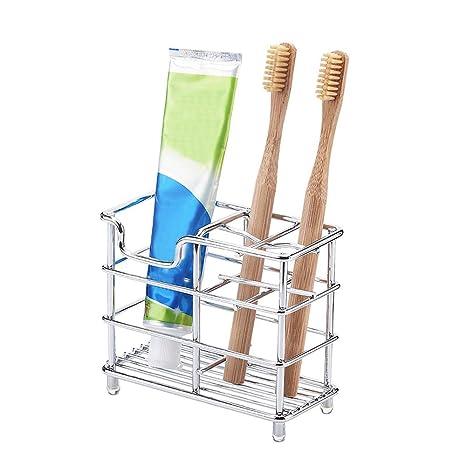 Soporte de acero inoxidable para cepillos de dientes ...