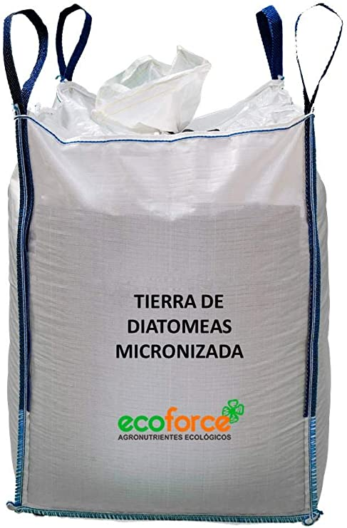 CULTIVERS Tierra de Diatomeas micronizada 1000 kg. Tierra de ...