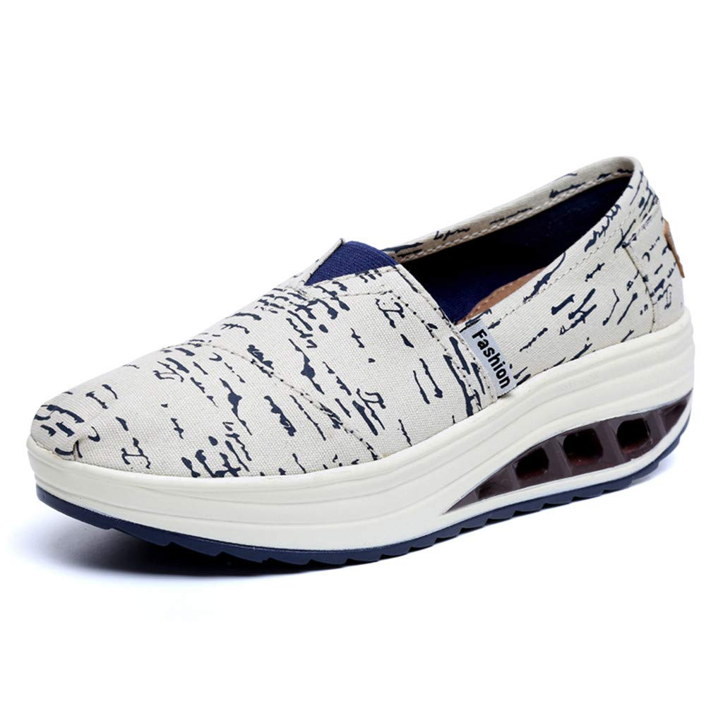 cc3093950edc7 Amazon.com: RAINED-Women's Low Top Canvas Shoes Classic American ...