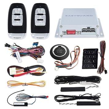 Smart Llave Rfid PKE Alarma Coche Sistema Remoto Arranque ...