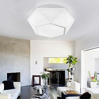 Moderne einfache Deckenleuchte Personalisierte kreative weiße Glas ...