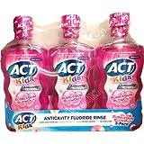 ACT Kids Anticavity Fluoride Rinse, Bubblegum Blowout, 50.7 Ounce