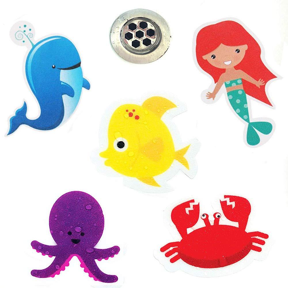 MAIYADUO 10x Anti-Rutsch Sticker für Badewanne, Dusche und Bad ...