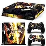 EBTY-Dreams Inc. - Sony Playstation 4 (PS4) - One Punch Man Anime Saitama Genos Vinyl Skin Sticker Decal Protector