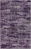 "Brumlow Mills EW10132-30×46 Rustic Vintage Abstract Area Rug, 2'6″ x 3'10"", Plum Purple Review"