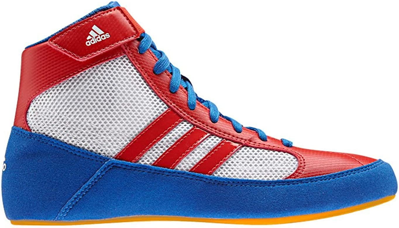cd0bfc2a3d87a HVC 2 Youth Laced Wrestling Shoes - Blue/Red/White - 3.5