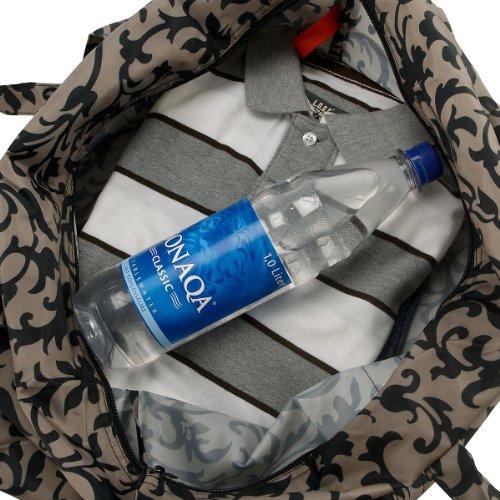 Reisenthel stonegrey maxi travelbag mini dots Black White qgrgt