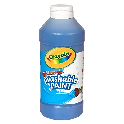 Crayola 54-2016-042 Washable Paint- Blue, Grade: Kindergarten to 3: Industrial & Scientific