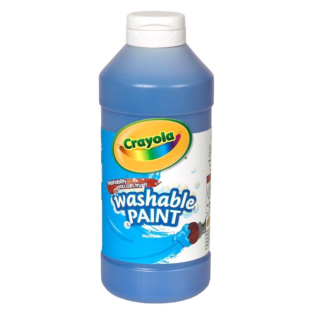 B00275X8CI Crayola 54-2016-042 Washable Paint- Blue, Grade: Kindergarten to 3 61x0kSwfm6L
