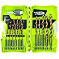 Ryobi SpeedLoad+ Tin Drill Bit Set (17-Piece) -DISCONTINUED