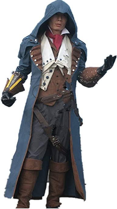 Assassin s Creed Unity Arno Victor Dorian cosplay disfraz: Amazon ...