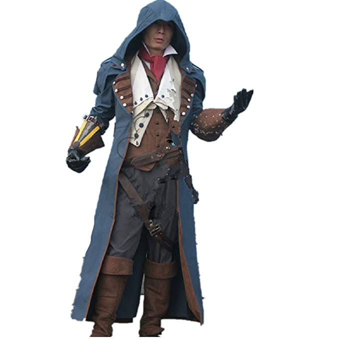 Assassin s Creed Unity Arno Victor Dorian cosplay disfraz: Amazon ...