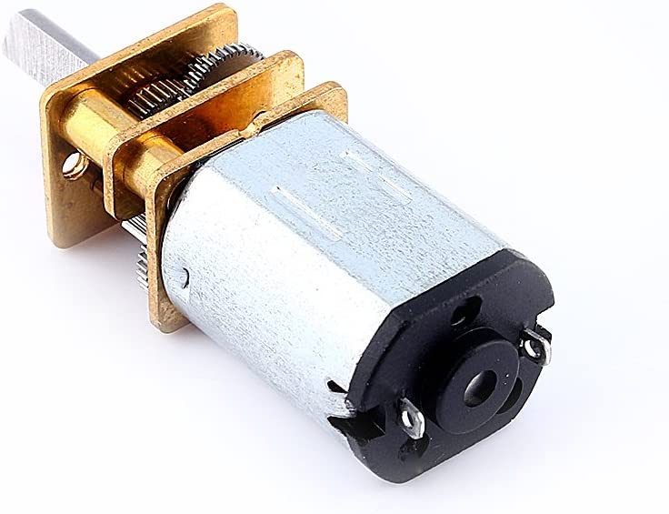 DIY Engine Spielzeug 12V 200RPM Yosoo Mini DC 6 // 12V Kurzer Welle Drehmoment Getriebemotor 50 // 200 // 300 RPM mit Metall Getriebe Ersatz N20 f/ür RC-Car Roboter Modell