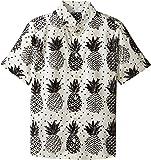 Dolce & Gabbana Kids Boy's Pineapple Button Down (Big Kids) White Print Button-up Shirt