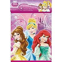 Disney Princess Party Loot Bags [8 Per Pack]