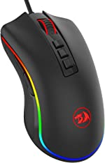 Redragon M711 Cobra Gaming Mouse with 16.8 Million RGB Color Backlit,