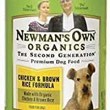 Newman's Own Organic Dog Food, Canned Chicken & Brown Rice Formula, 12.7 oz