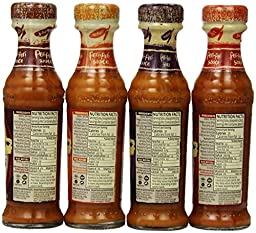 Nando\'s Peri Peri Sauce Variety 4 Flavors Combination, 4.7 Ounce (Pack of 4)