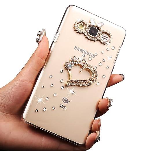 6 opinioni per Sunroyal® Ultra Sottile Bling Duro Back Custodia per Samsung Galaxy J3 (2016)
