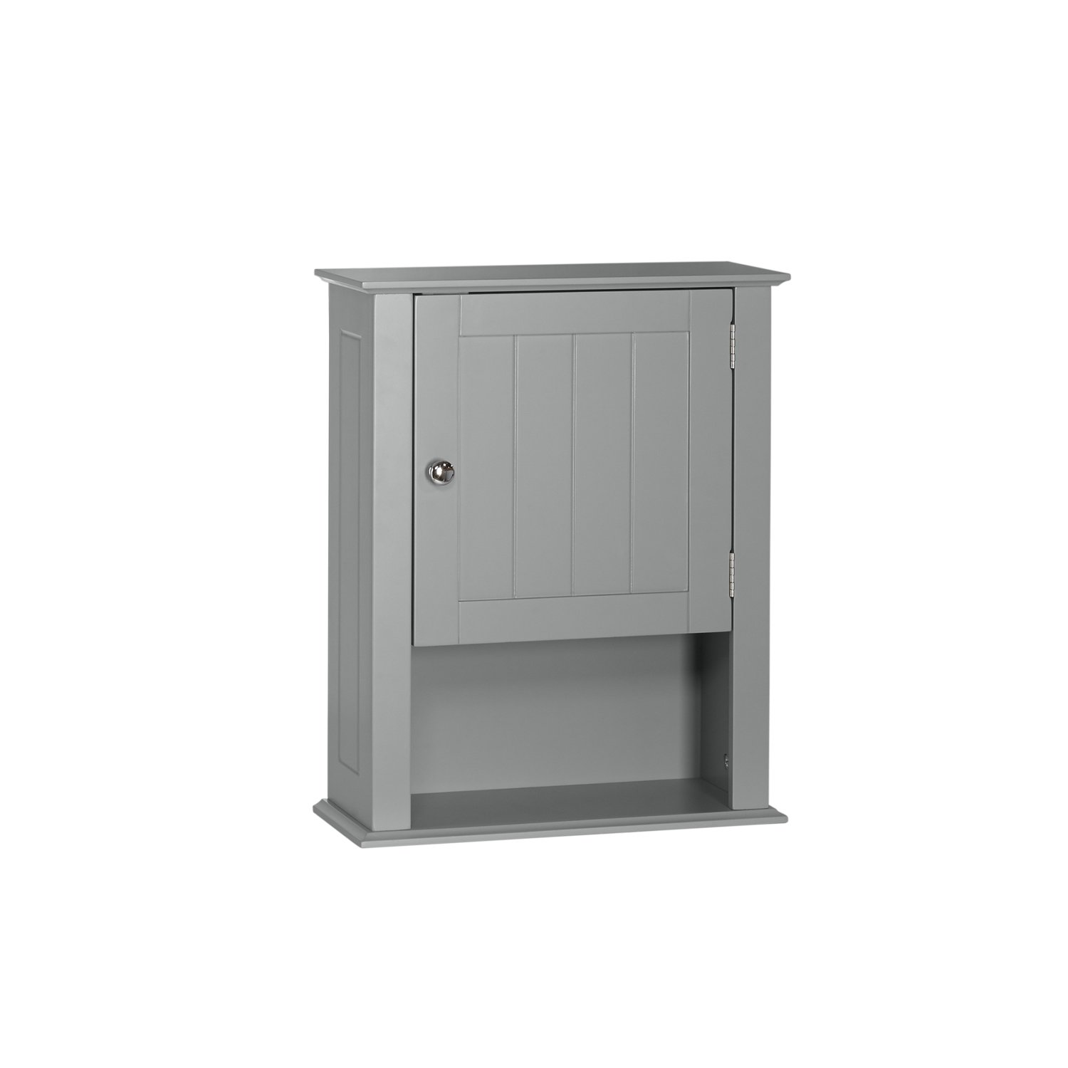 RiverRidge Ashland Collection - Single Door Wall Cabinet - Gray by RiverRidge Home