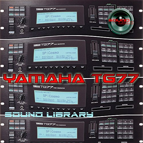 YAMAHA TG-77 Huge Sound Library & Editors on CD by producer-tools
