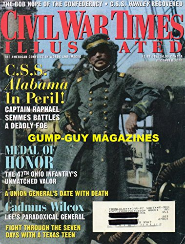 Civil War Times Illustrated December 2000 Magazine C.S.S. ALABAMA IN PERIL! CAPTAIN RAPHAEL SEMMES BATTLES A DEADLY FOE (Flag Of Virginia During The Civil War)