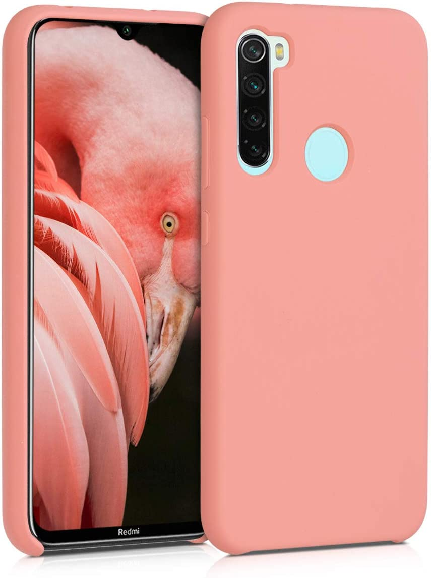 Amazon Com Kwmobile Tpu Silicone Case Compatible With Xiaomi Redmi Note 8 Soft Flexible Rubber Protective Cover Coral Matte