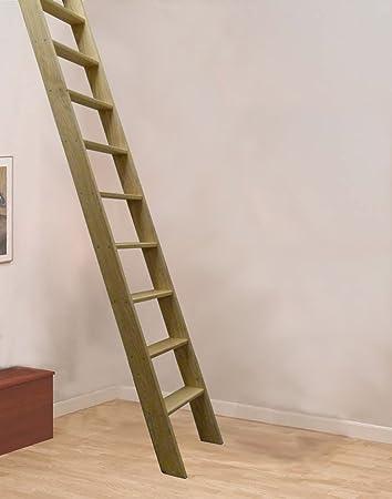 Ash recto madera Escalera para desván de vuelo (embalaje plano): Amazon.es: Bricolaje y herramientas