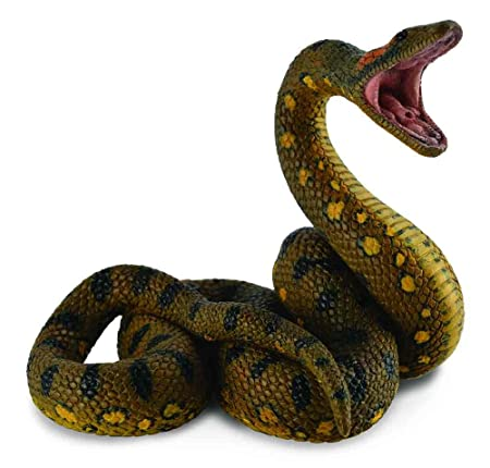 CollectA Wildlife Green Anaconda Toy Figure - Authentic Hand Painted Model