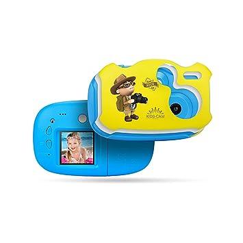 AIBAB Cámara Digital para Niños Juego Mental Réflex Mini ...