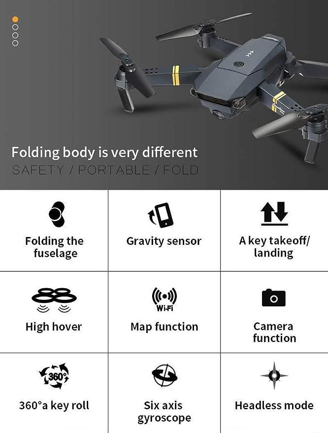 E58 dron 2 MP 720P Camera WiFi FPV Live vídeo mobile App control ...