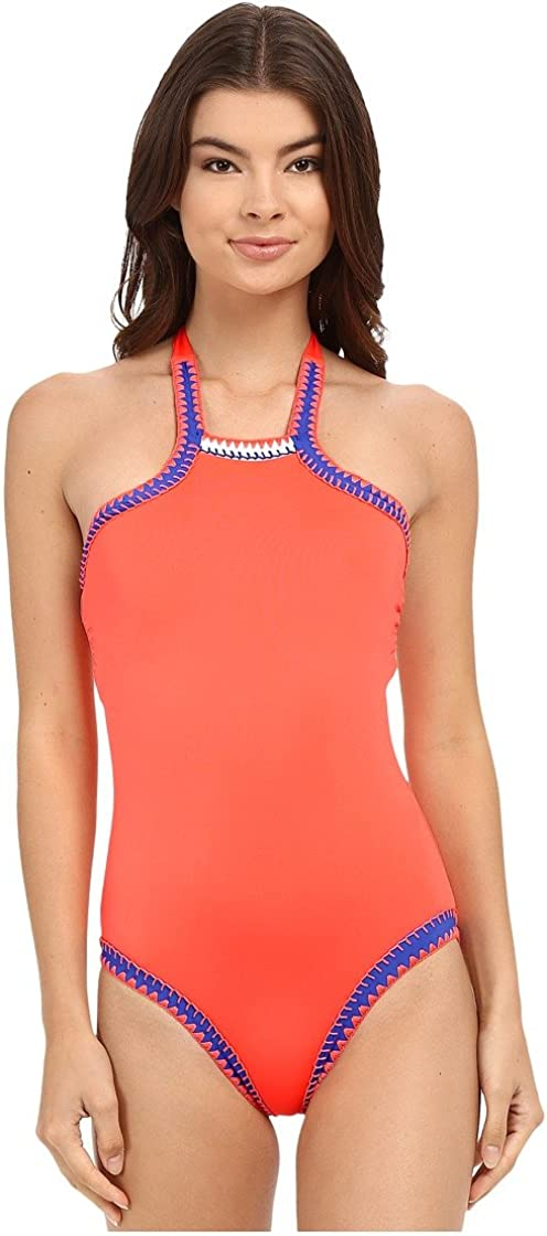 Seafolly Swimsuit One Piece Summer Vibe High Orange