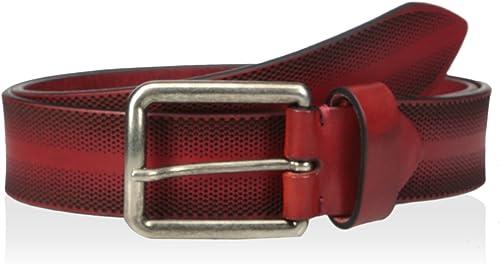 Bolliver Mens Patchwork Leather Belt