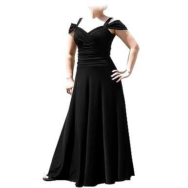 Amazon.com: Evanese Women\'s Plus Size Elegant Long Formal Evening ...