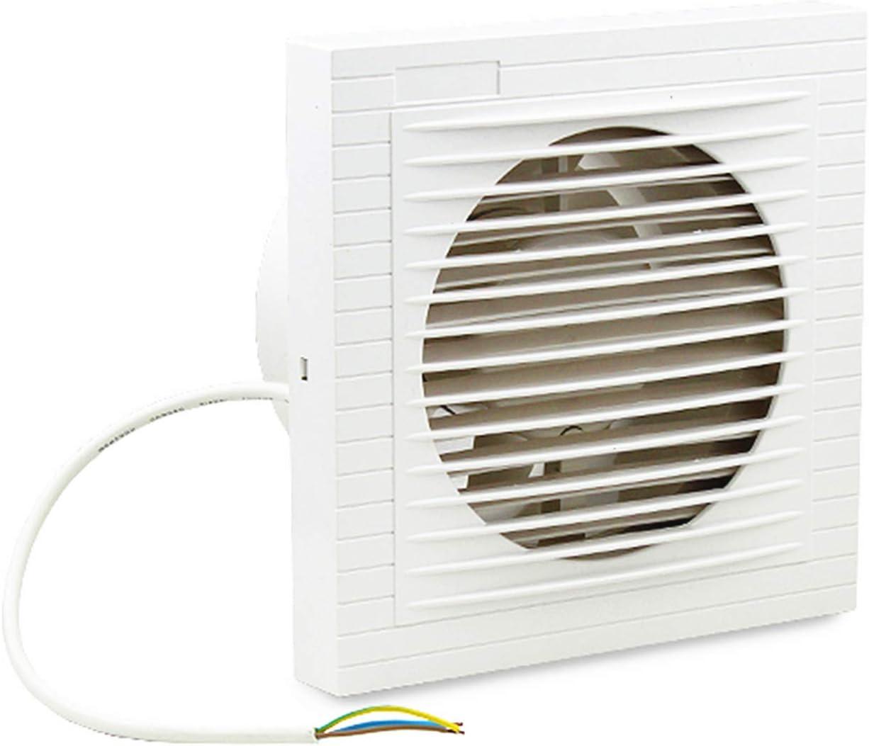Hengda L/üfter 150mm Wandventilator Rohrventilator Abluftventilator Bad Ventilatorf/ür Bad und K/üche