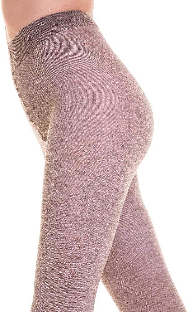 SANGIACOMO WE LOVE SOCKS NEWPORT Collant en Laine M/érino et Cotton Ultra Opaque 140 Denier