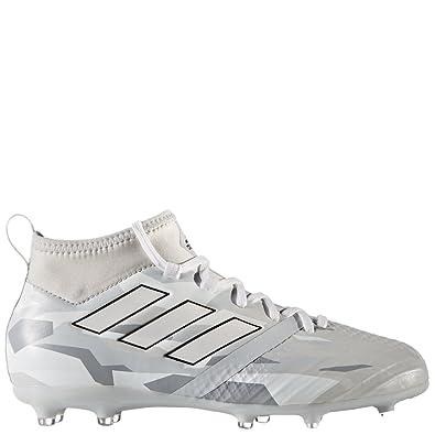 5fb136472f4f0 Amazon.com | adidas JR Ace 17.1 FG Clear Grey/White Camo Soccer ...
