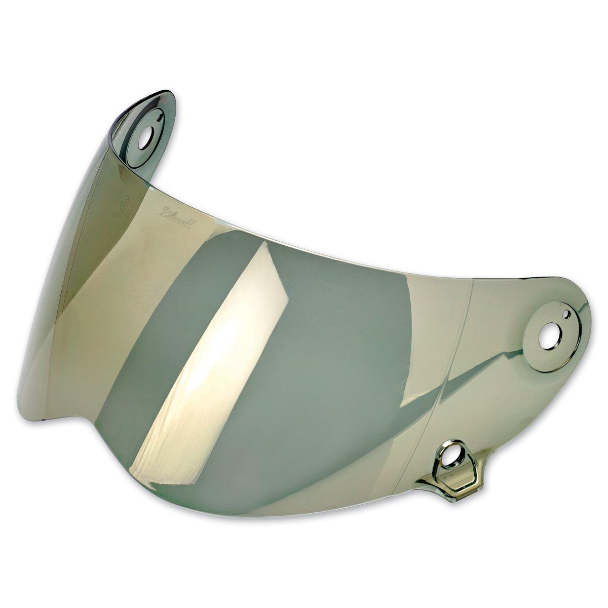 Biltwell Unisex Adult Inc. Lane Splitter Gold Mirror Face Shield FS-GLD-LS-SD