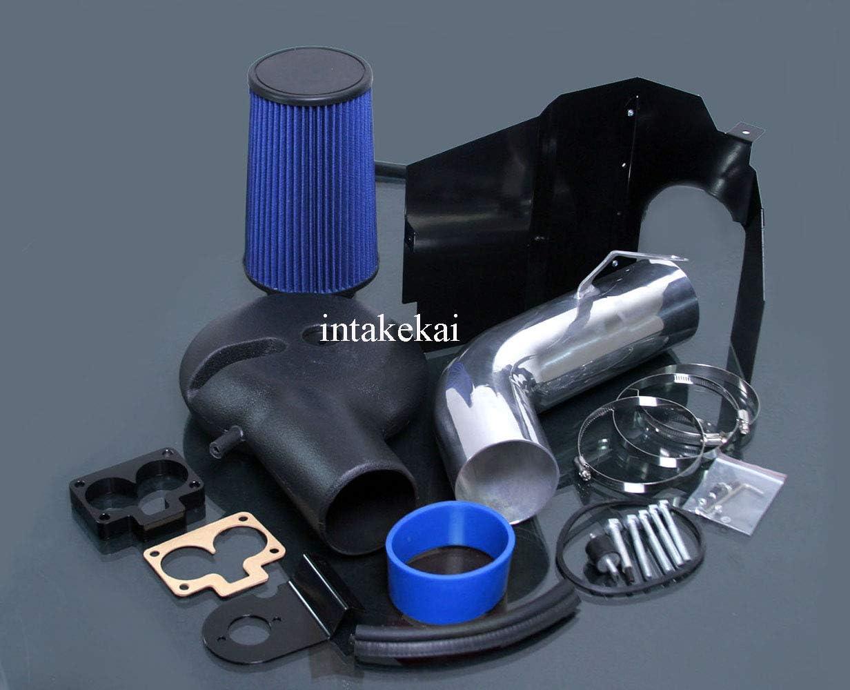 HEATSHIELD Cold AIR Intake KIT FIT 1997-1999 Dodge Dakota 1998-2003 Dodge Durango 5.2L RED 5.9L V8 Engine