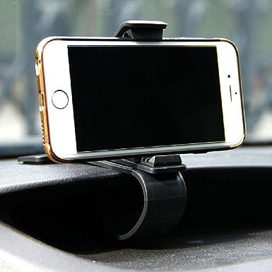Ajustable soporte de fijación para el coche para salpicadero de coche GPS Soporte abrazadera Clip para