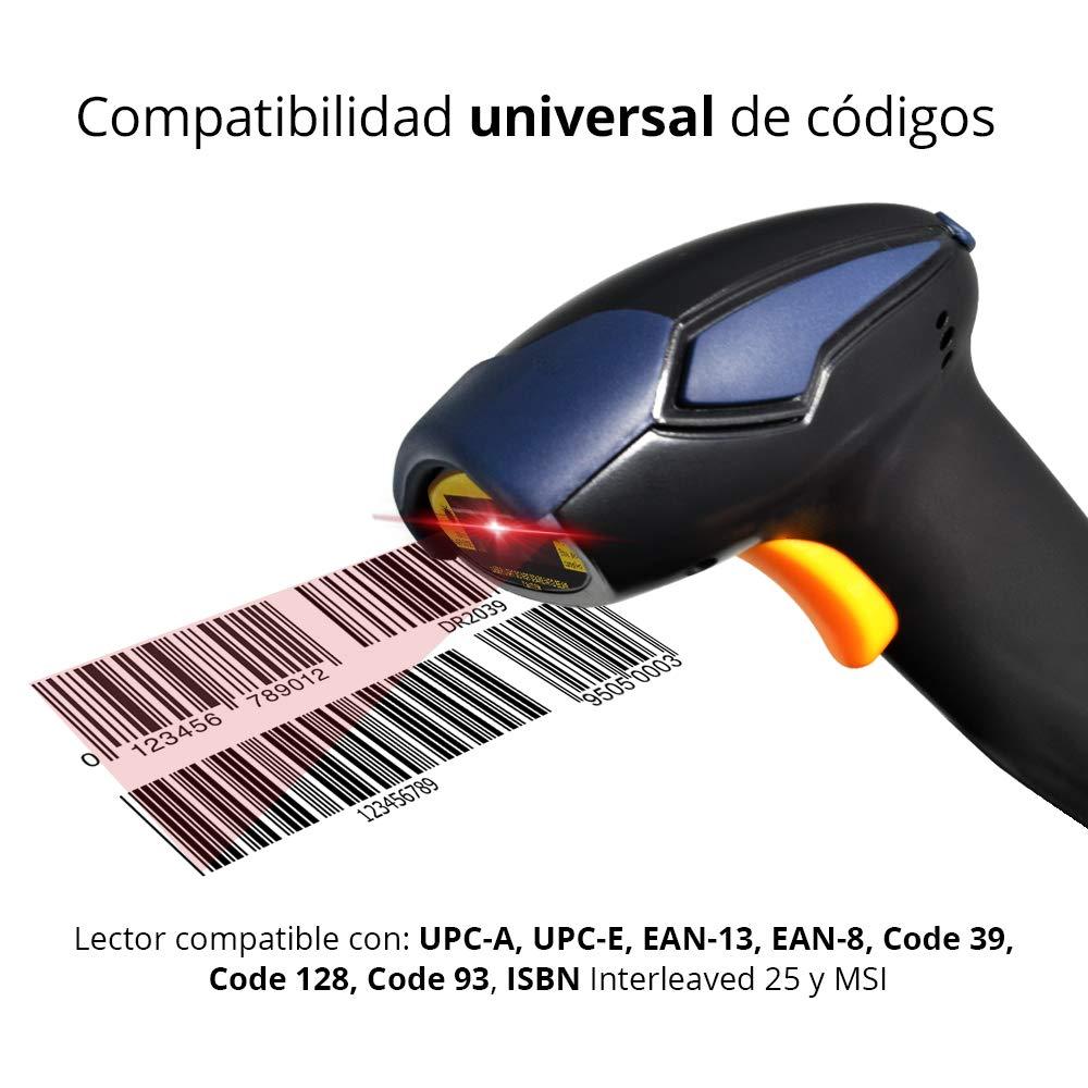 7bf84e2c2a07d RedLemon Lector de Códigos de Barras Láser USB