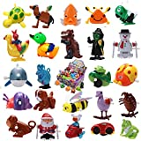 Joyin Toy 24 Pieces Assorted Wind-up Toys Easter Egg Stuffer for Kids Party Favors (2 Dozen)