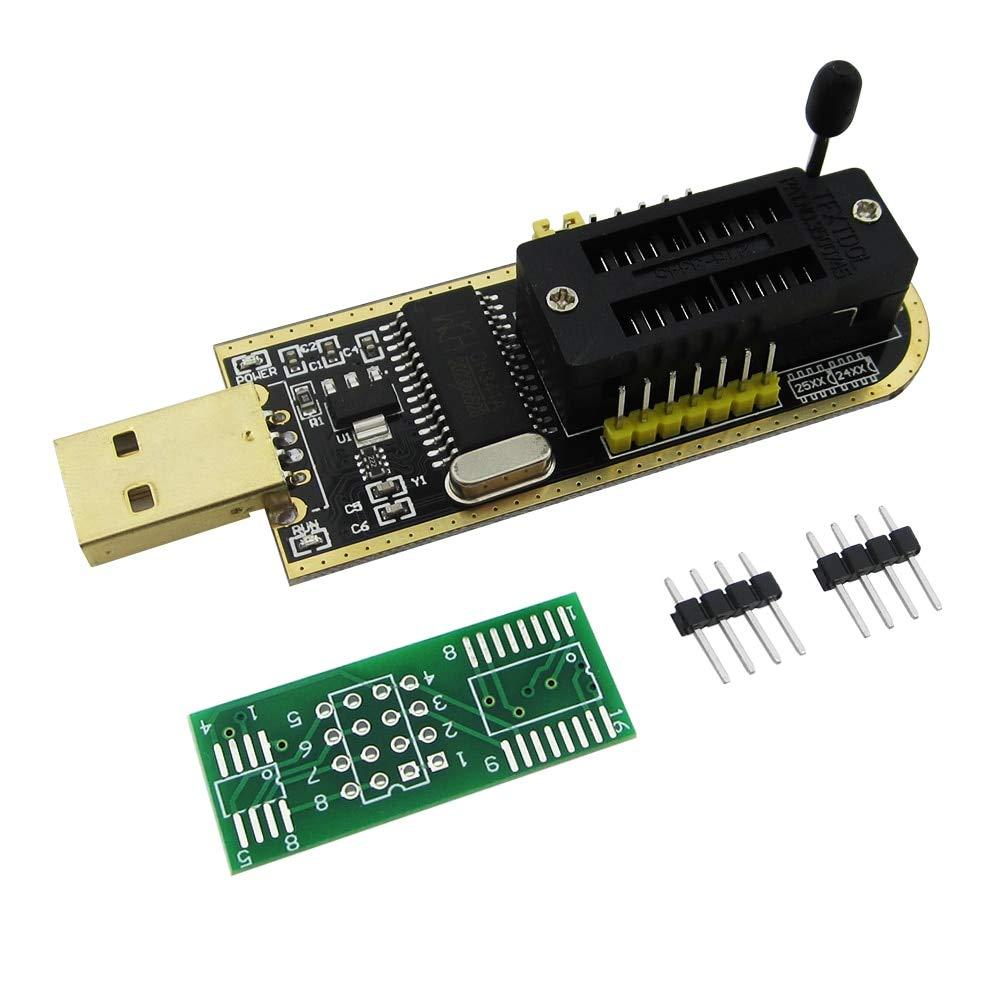 Amazon com: CH341A 24 25 Series EEPROM Flash BIOS USB
