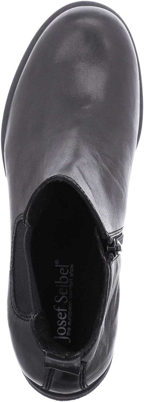 Josef Seibel Sanja 06, Stivali alla Moda Donna Nero