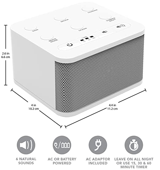 Top 5 White Noise Machine Options in 2020 - Reviews and Buying Guide 7