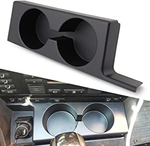 BMW Cup Holders, Front Dual Cup Holder Upgrade for BMW E39 97-03 BMW 528i 540i 525i 530i M5 Botter