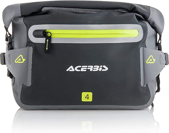Acerbis 0022858 319 Marsupio Stagno Moto No Waterproof 4l Nero Grigio Auto