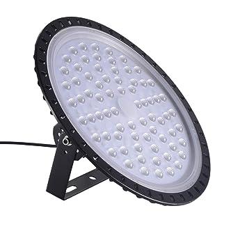 Viugreum UFO LED Lámpara de Alta Bahía, Blanco Frío Iluminación 300W, Impermeable IP65,